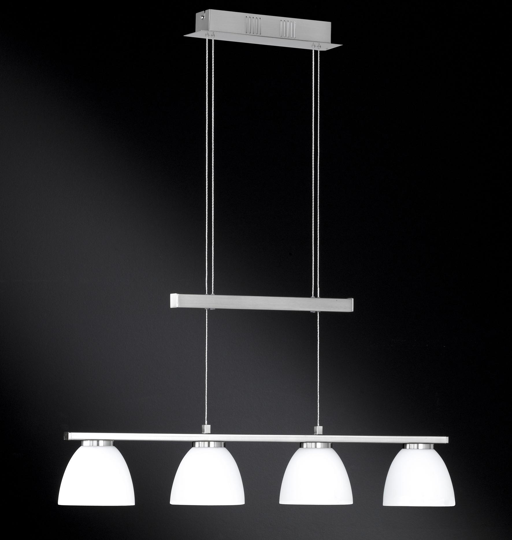 wofi pendelleuchte ava 4 flg nickel matt. Black Bedroom Furniture Sets. Home Design Ideas