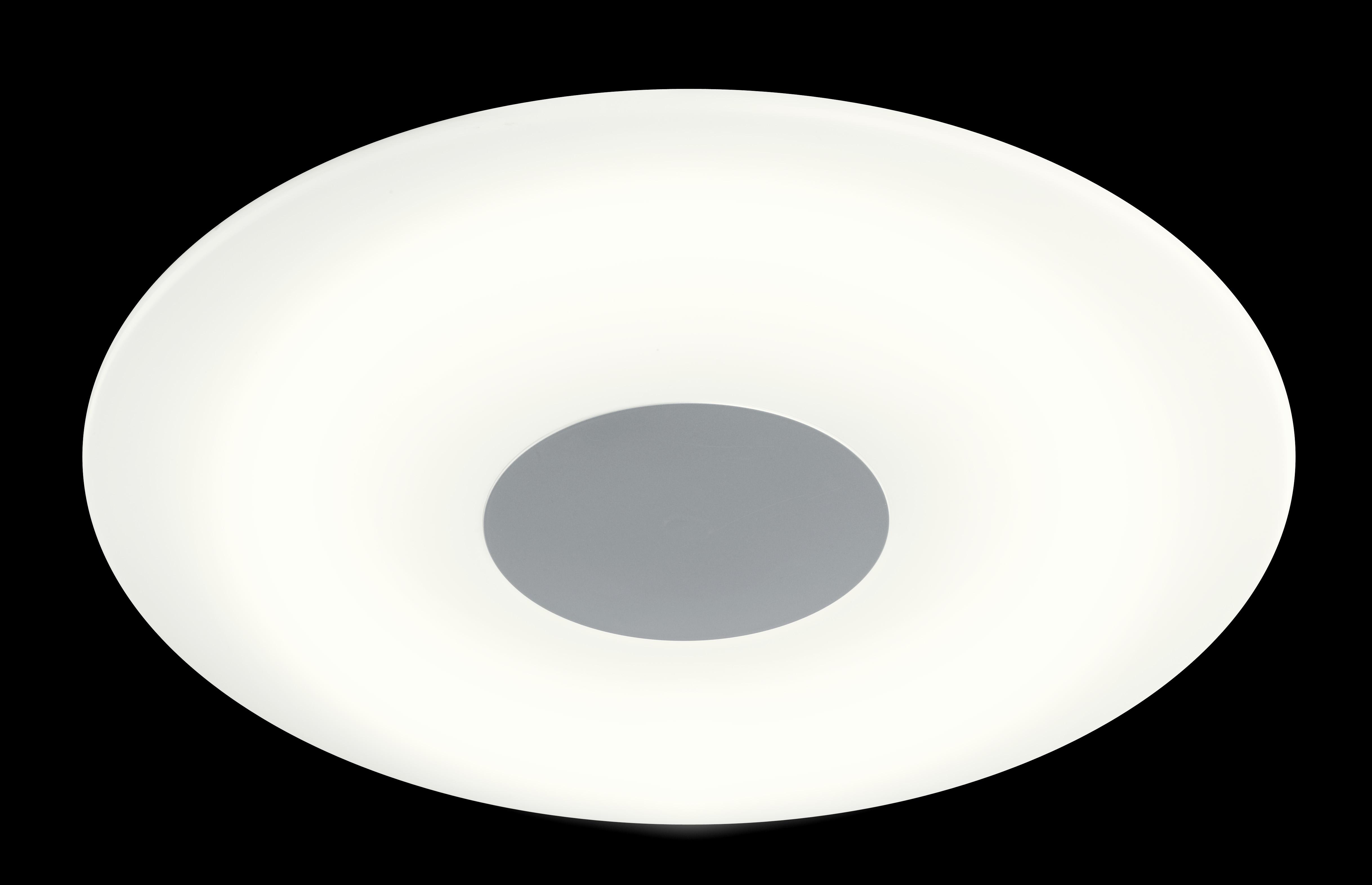 wofi deckenleuchte sila 1 flg nickel matt durchmesser 45 cm. Black Bedroom Furniture Sets. Home Design Ideas