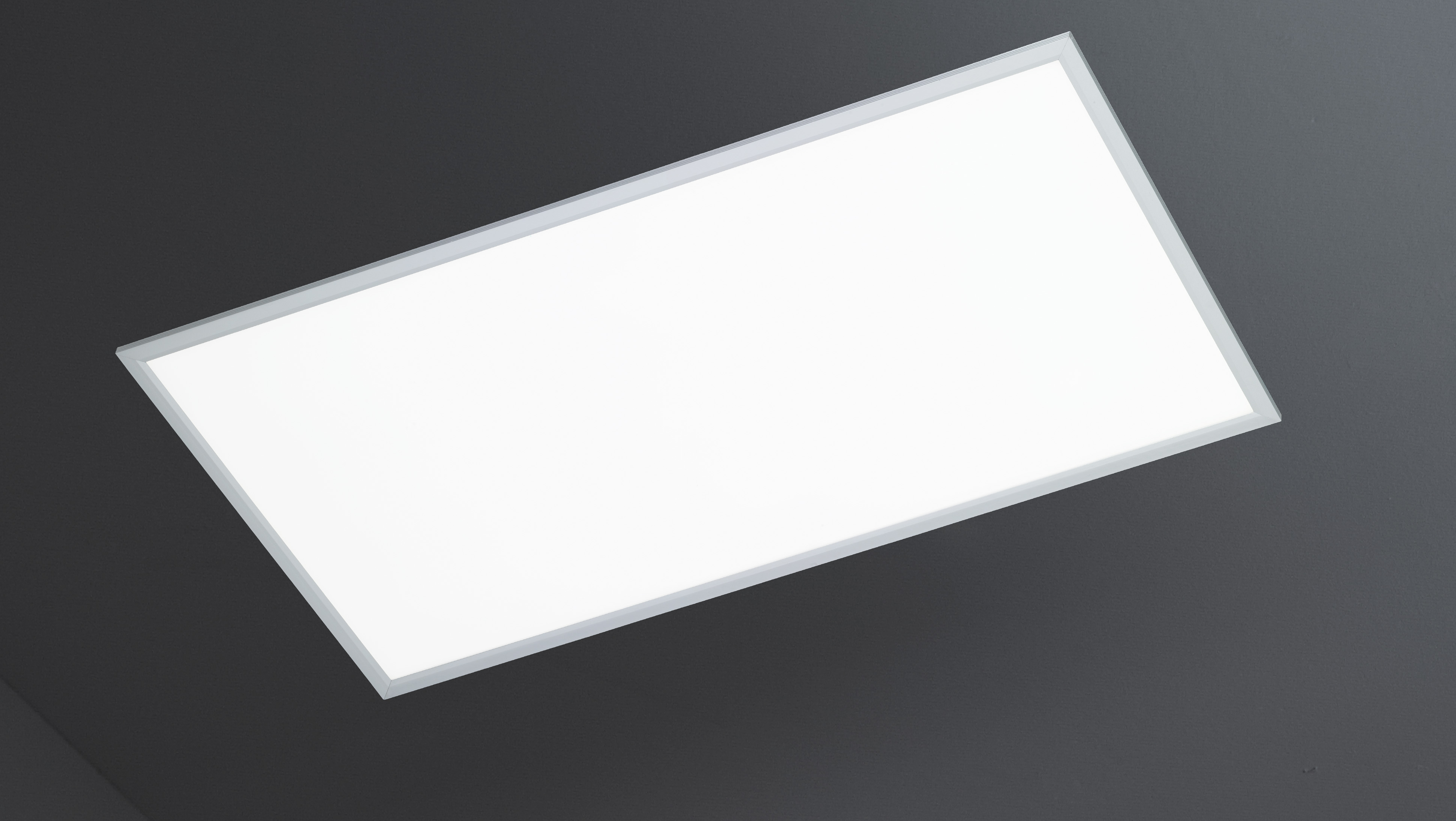 wofi deckenleuchte liv 1 flg silber 60x120 cm mit farbtemperaturwechsler. Black Bedroom Furniture Sets. Home Design Ideas