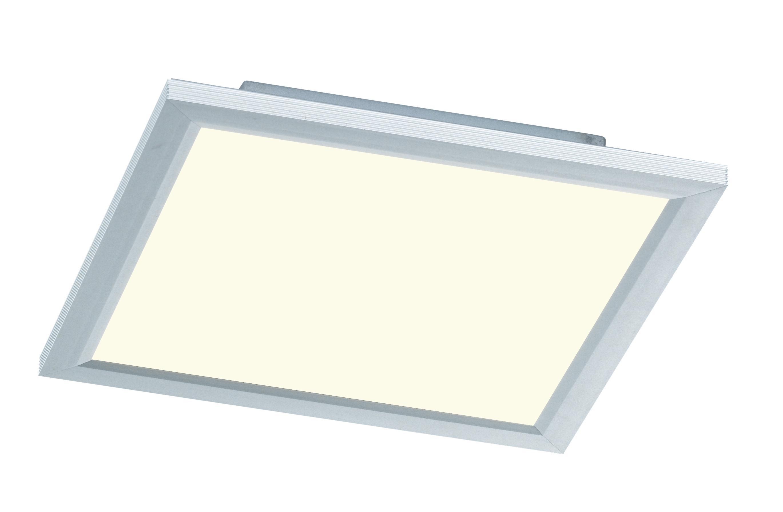 wofi deckenleuchte liv 1 flg silber 30x30 cm mit farbtemperaturwechsler. Black Bedroom Furniture Sets. Home Design Ideas