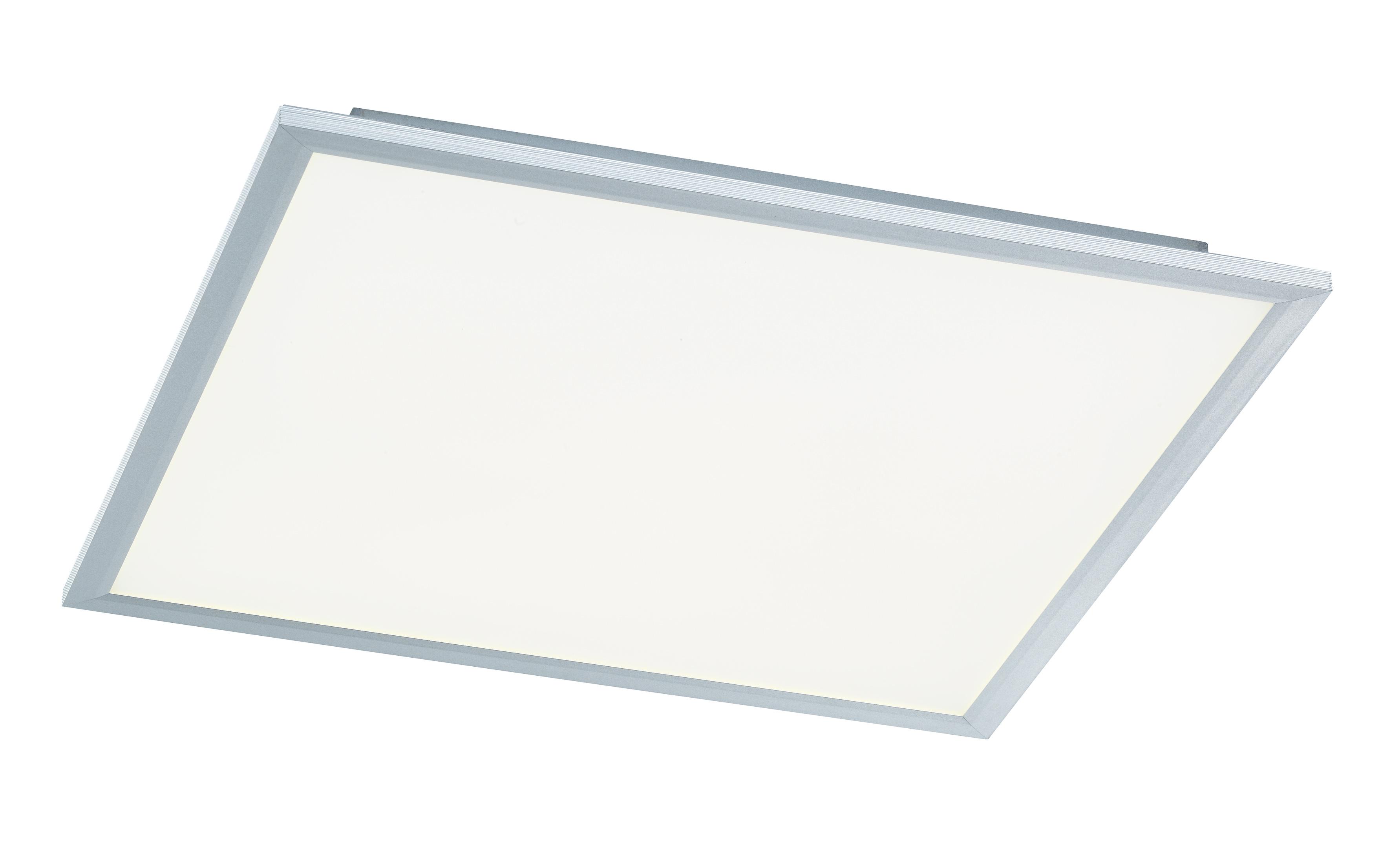 wofi deckenleuchte liv 1 flg silber 60x60 cm mit farbtemperaturwechsler. Black Bedroom Furniture Sets. Home Design Ideas